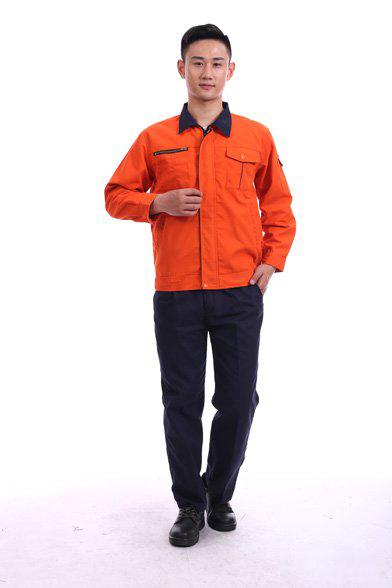 8801橘红色