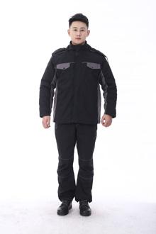 黑马系列冬款棉衣-9803黑灰