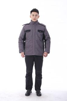 黑马系列冬款棉衣-9803灰黑