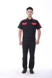 黑马系列夏款短袖-9801黑红