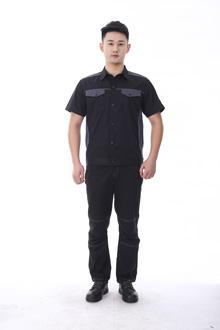 黑马系列夏款短袖-9801黑灰
