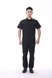 黑马系列夏款短袖-9801黑色