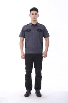 黑马系列夏款短袖-9801灰黑